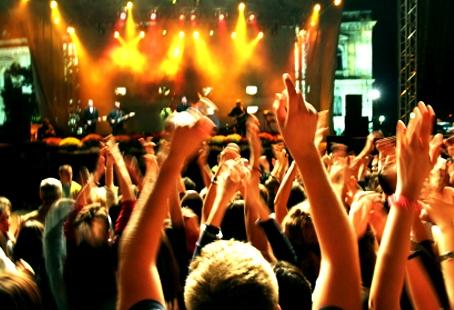 Live music club